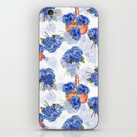 Cape Cod Hydrangeas and Baskets iPhone & iPod Skin