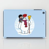 Inflatable Snowman iPad Case