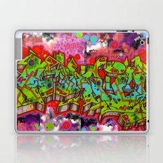 forgive graffiti Laptop & iPad Skin
