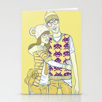 Geek Love Stationery Cards