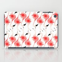 Flamingos! iPad Case