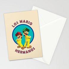 Los Mario Hermanos Stationery Cards