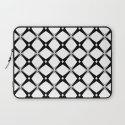 BW Pattern (Stars) Laptop Sleeve