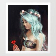 Little Spring Poppy Art Print