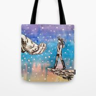 Just A Little Closer... Tote Bag