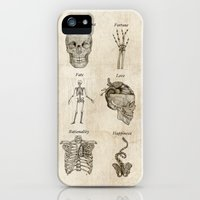 iPhone 5s & iPhone 5 Cases featuring Anatomy lessons by Sara Elan Donati