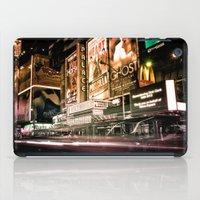 Lights on Broadway iPad Case
