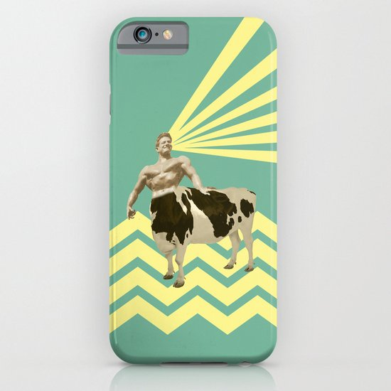 The real muscular cow-boy  iPhone & iPod Case