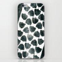Grey Maple Print iPhone & iPod Skin