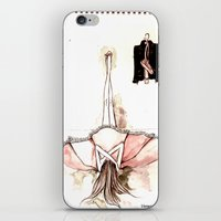 Ballet&leather iPhone & iPod Skin