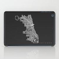 CHICAGO MAP iPad Case