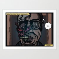 And Within A Split Secon… Art Print
