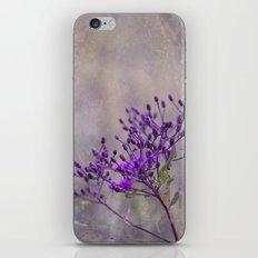 Purple Wildflowers iPhone & iPod Skin
