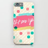 iPhone & iPod Case featuring Hit Me Up! by Nett Designs