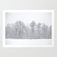 One Snowy Day Art Print