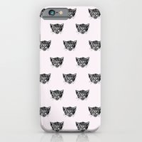 Polka Cat iPhone 6 Slim Case