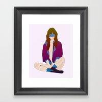 Berry Framed Art Print