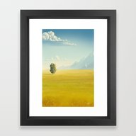 Peaceful Valley Framed Art Print