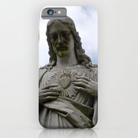 iPhone & iPod Case featuring Sacred Heart by Amy Joyce