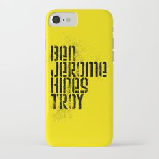 Ben Jerome Hines Troy / Gold iPhone 7 Slim Case