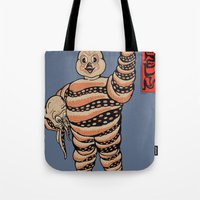 Octopus Michelin Tote Bag
