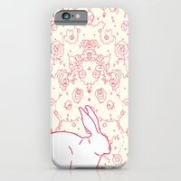 iPhone & iPod Case featuring Rabbit Collaboration by Amanda Trader