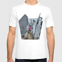 DER SPIEGELSAAL 02 Mens Fitted Tee White SMALL