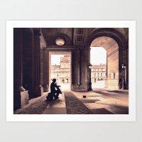 Adagio Parisienne Art Print