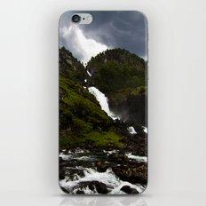 Norwegian Waterfalls iPhone & iPod Skin