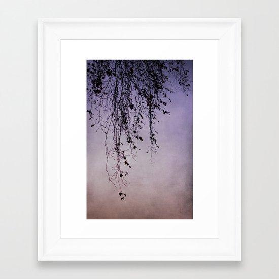 pensile Framed Art Print