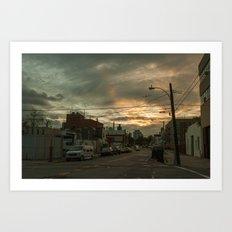 Astoria, New York City Art Print
