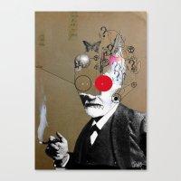 Freudian Slip Canvas Print