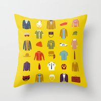 W.A Luggage Throw Pillow