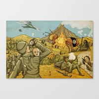 #ISIS #ISIL #IS #WHATEVE… Canvas Print