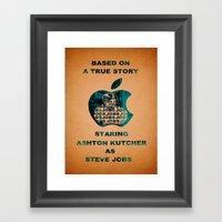 JOBS Movie Poster Framed Art Print