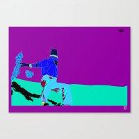 La muerte de Salcedo Canvas Print