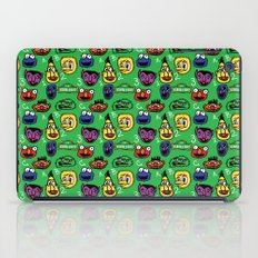 Sesame Street Pattern iPad Case