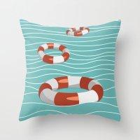 Lifesaver? Throw Pillow