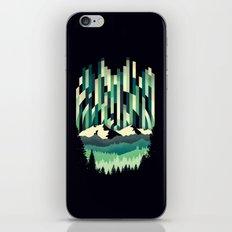 Sunrise in Vertical - Winter Blues iPhone & iPod Skin