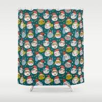 Pattern Project #50 / Li… Shower Curtain