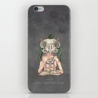 Long Live The Dead - Owl iPhone & iPod Skin