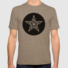 Star Mens Fitted Tee Tri-Coffee SMALL