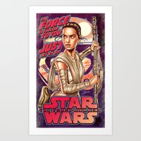 The Force Is Calling To … Art Print