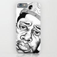 Biggie Smalls Stippling iPhone 6 Slim Case
