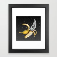 A Planetary Plantain Framed Art Print