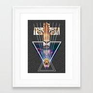 TigerCross Framed Art Print