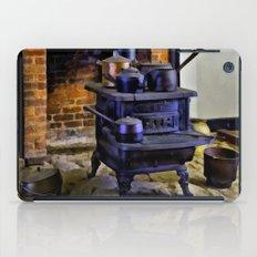 Wood Stove (Painted) iPad Case