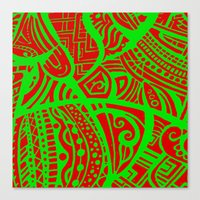 Abstractish 3 Canvas Print