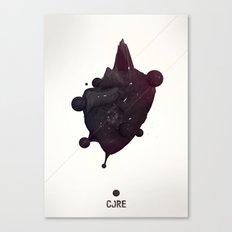 CORE Black 2 Canvas Print