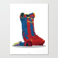 FC Barcelona 2010/11 - Champions League Winners Canvas Print